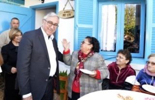 Cumhurbaşkanı Akıncı, Bağlıköy'de Ambelikou...