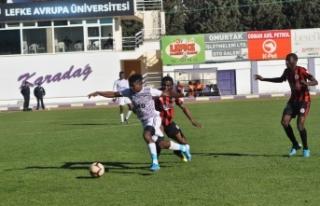 Karadağ'ın hakimi Lefke 2-0