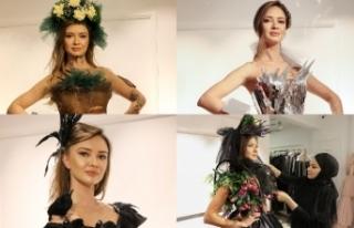 Moda tasarımcısı Gülcan Selçuk, 30 elbiseyi İklim...