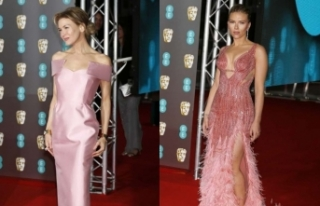 73. BAFTA ödül töreninin kırmızı halısında...