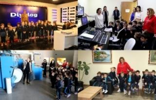 Diyalog Medya Grubu, Levent Kindergarten 3 yaş öğrencilerini...
