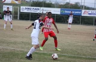 Gönyeli'den yarım düzine gol 6-1