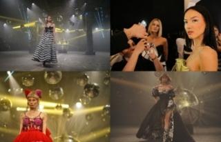 İranlı genç moda tasarımcısı Farnaz Salmani,...