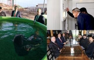 Meclis Başkanı Uluçay, Taşkent Doğa Parkı'nı...