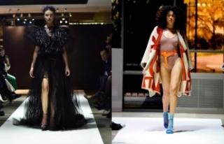 VlastaKopylova yeni koleksiyonu ile Milano Moda Haftası'nda...
