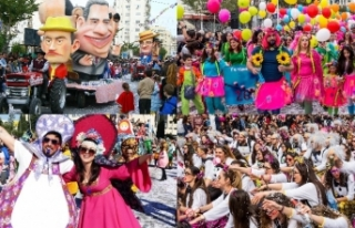 30 bin kişinin katıldığı Limasol karnavalı sona...
