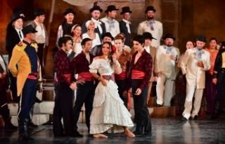 Carmen Balesinin prömiyeri yarın sahneye konulacak
