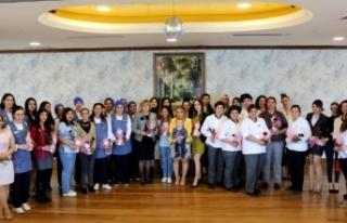 Merit Lefkoşa Hotel kadın çalışanları, kadınlar...