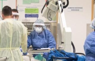 67 sağlık görevlisi Rum hasta oldu