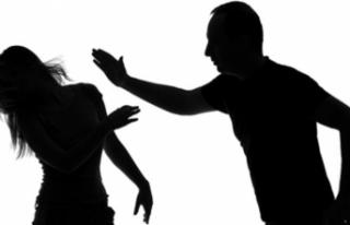 Eşini dövdükten sonra tehdit etti