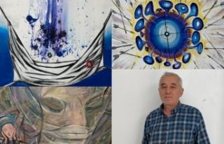 Sanatçılar Coronavirüsü eserleriyle anlatıyor