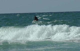 Alagadi dalgaları iki genci yuttu