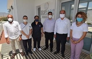Değirmenlik Belediyesi çalışanları Covid-19 testinden...
