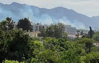 Edremit'te yangın korkusu