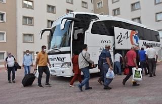 KKTC'den giden 173 tarım işçisi Adıyaman'a...