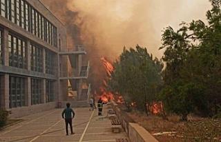 ODTÜ kampüsü boşaltıldı