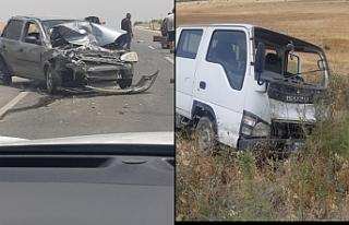 3 araç çarpıştı, 3 yaralı var