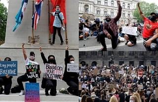 ABD'de, İngiltere ve Hollanda'da protesto...