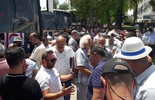 Eylemciler ile başbakan görüşmede