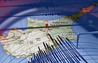 Kıbrıs'ta deprem