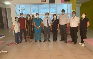 Kuzey Kıbrıs'ta bin 1 test yapıldı, 2 yeni vaka