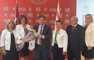 Lions Federasyonu, Bakan Pilli'yi tebrik etti