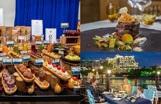 Merit Royal'in restoranları dünya lezzetlerini...