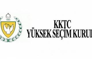 Seçim yasakları 12 Ağustos'ta başlıyor
