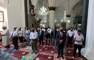 Selimiye'de Ayasofya duası