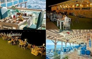 Akdeniz akşamları Fora'da bir başka oluyor