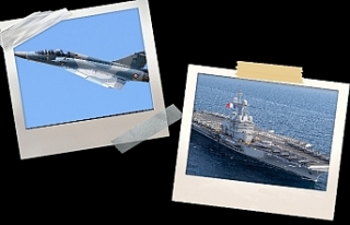 Fransa'nın savaş gemileri Limasol'a, uçakları...