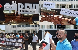 İstihdam protestosu