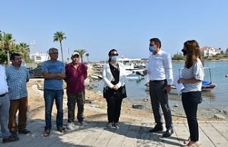 Laguna Balıkçı Barınağı TİKA'nın desteğiyle...