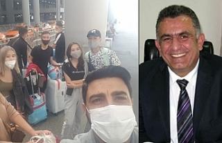Öğrenciler, İstanbul'da uçuş yasağına takıldı