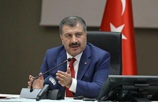Türkiye'de vaka sayısı bin 761'e yükseldi