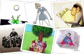 Uluslararası Zeytin Karikatürleri ve Mizah Sergisi...