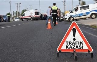 Bir haftada 71 trafik kazası 1 ölü, 23 kişi yaralı