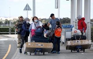 Eylül'de Güney'e 119 bin turist gitti