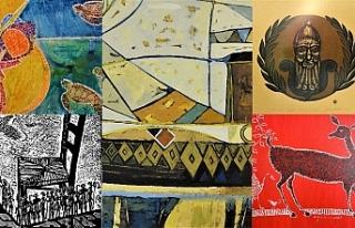 20 sanatçının 40 eseri, ocak ayı sonuna kadar...