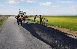 Yollar yenileniyor