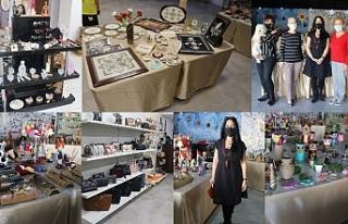 Sanatçılar Çarşısı'na büyük ilgi