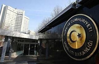Türkiye'den rum yönetimine tepki