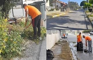 Girne Belediyesi çalışıyor
