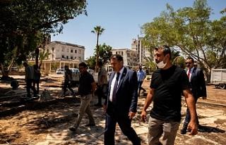 Bilal Ağa Mescidi ve Halk Plajı'na ziyaret