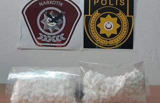 Gönyeli'de 200 gram taş kokain