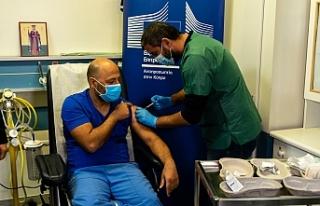 Güney'de nüfusun yüzde 56,5'i ilk doz aşısını...