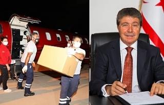 Türkiye'den 50 bin doz aşı daha geldi