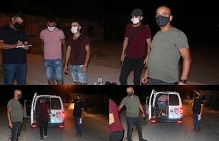 3'ü polise sığındı