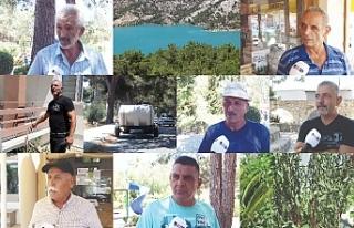 Çamlıbel halkı 10 günden beri su alamıyor