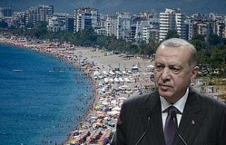 Cumhurbaşkanı Recep Tayyip Erdoğan'ın ziyareti...